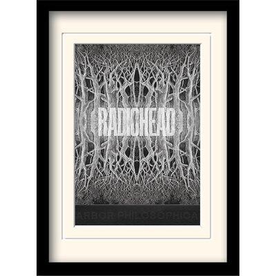 Art Group Radiohead King of Limbs Framed Graphic Art