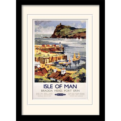 Art Group Isle of Man #1 Framed Vintage Advertisement