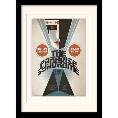 Art Group The Paradise Syndrome by Star Trek Mounted Framed Vintage Advertisement