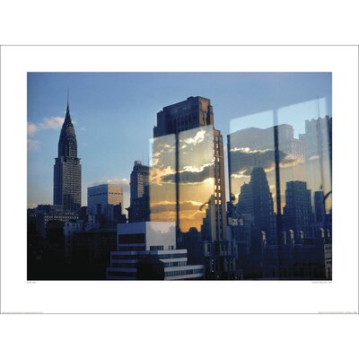 Art Group Skyline - New York, 1957 by Ernst Haas Photographic Print
