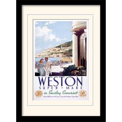 Art Group Weston Super Mare Framed Vintage Advertisement