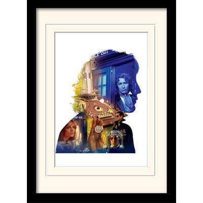 Art Group Doctor Who McGann Framed Graphic Art