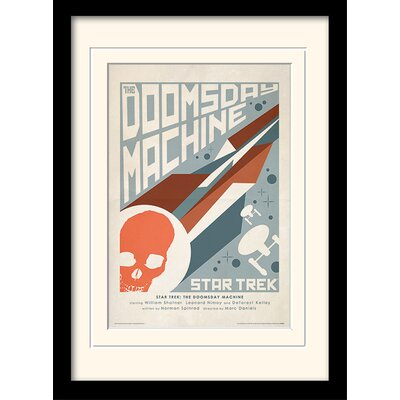 Art Group The Doomsday Machine by Star Trek Mounted Framed Vintage Advertisement