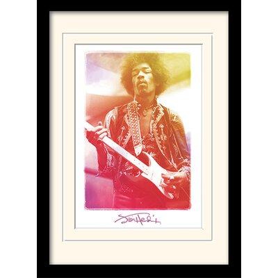 """Art Group Jimi Hendrix """"Legend"""" Framed Graphic Art"""