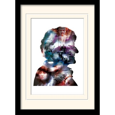 Art Group Doctor Who Pertwee Framed Graphic Art