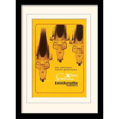Art Group Lambretta - X150 Special Framed Vintage Advertisement