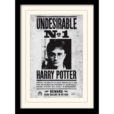 Art Group Harry Potter - Undesirable No1 Framed Vintage Advertisement