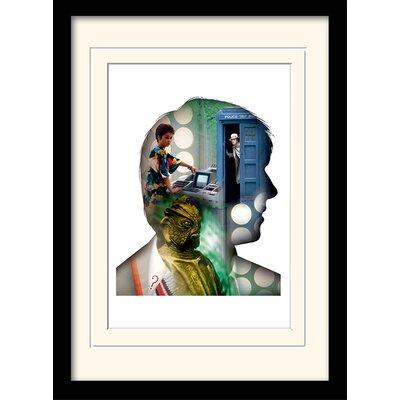 Art Group Doctor Who Davison Framed Graphic Art