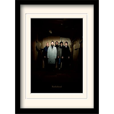 Art Group Radiohead Group Framed Photographic Print