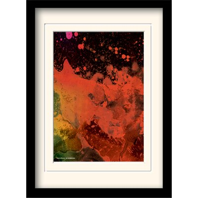 Art Group Radiohead in Rainbows Framed Graphic Art