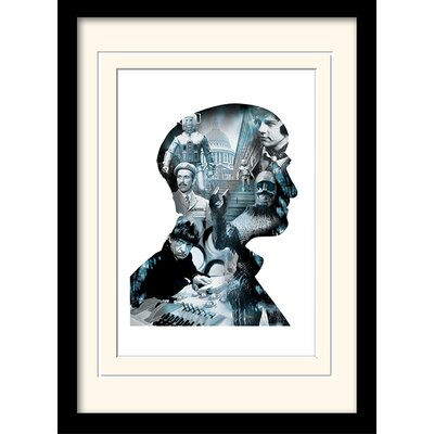 Art Group Doctor Who Troughton Framed Vintage Advertisement