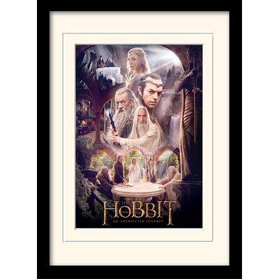 Art Group The Hobbit - White Council Framed Vintage Advertisement