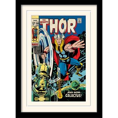 Art Group Galactus - Thor Framed Vintage Advertisement