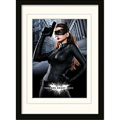 Art Group Catwoman - The Dark Knight Rises Framed Vintage Advertisement
