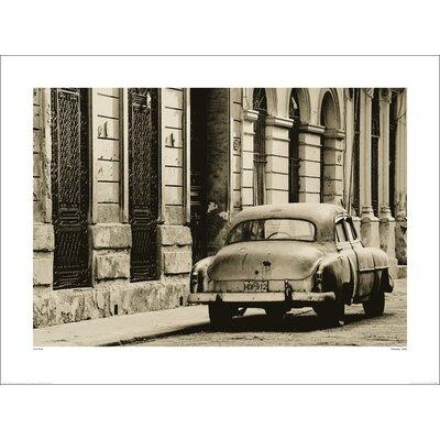Art Group Vintage Car, Havana, Cuba by Lee Frost Photographic Print
