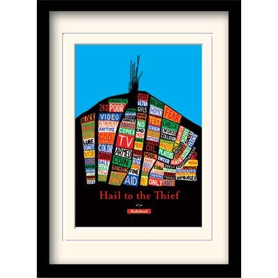 Art Group Radiohead Thief Framed Vintage Advertisement