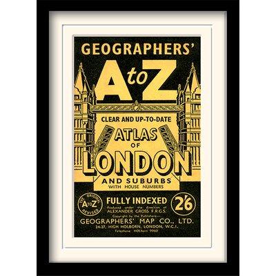 Art Group A-Z Vintage I Framed Vintage Advertisement