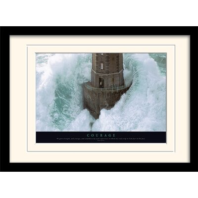 Art Group Courage Framed Photographic Print