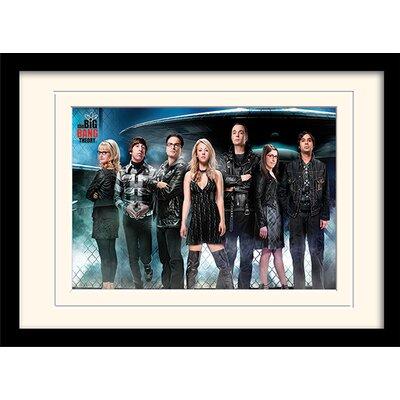 Art Group UFO - The Big Bang Theory Framed Vintage Advertisement