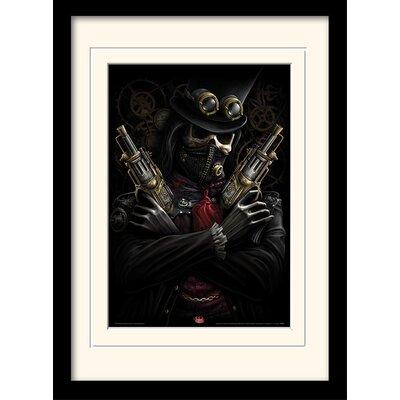 Art Group Spiral Steampunk Bandit Mounted Framed Graphic Art