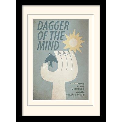 Art Group Dagger Of The Mind by Star Trek Mounted Framed Vintage Advertisement