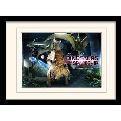 Art Group Doctor Who Dinosaurs Framed Vintage Advertisement