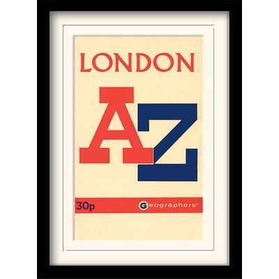 Art Group A-Z Vintage III Framed Typography