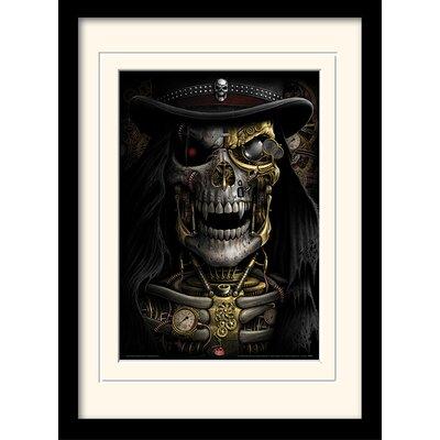 Art Group Spiral Steampunk Reaper Mounted Framed Graphic Art