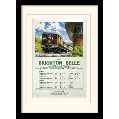 Art Group Brighton Belle Framed Vintage Advertisement