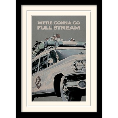 Art Group Ghostbusters EctoMobile Framed Graphic Art