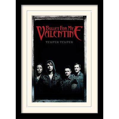 Art Group Bullet For My Valentine Group Framed Vintage Advertisement