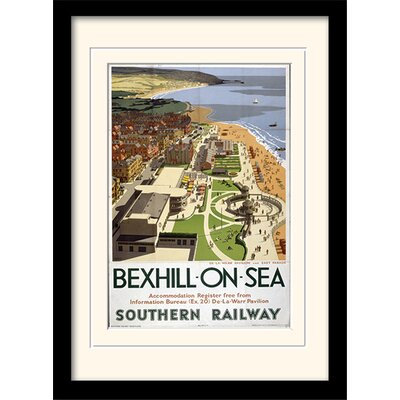 Art Group Bexhill on Sea Framed Vintage Advertisement