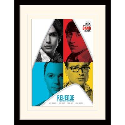 Art Group Revenge - The Big Bang Theory Framed Vintage Advertisement