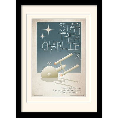 Art Group Charlie X by Star Trek Mounted Framed Vintage Advertisement