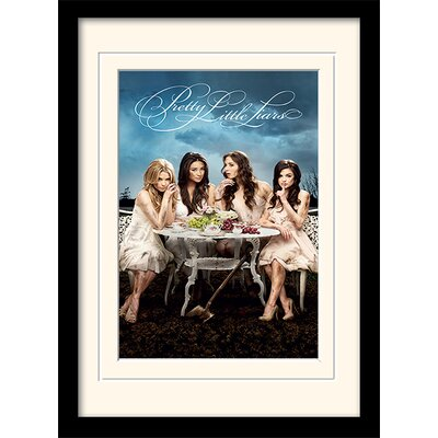 Art Group Pretty Little Liars Framed Vintage Advertisement
