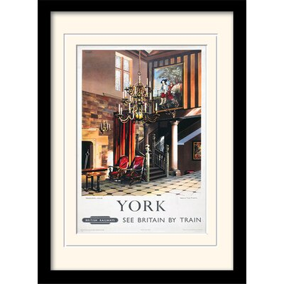 Art Group Treasurer's House - York Framed Vintage Advertisement