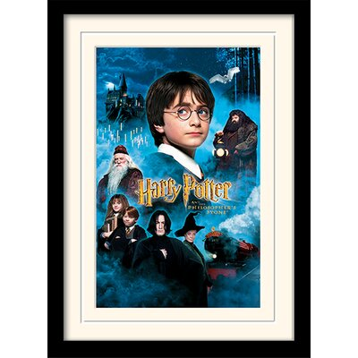 Art Group Harry Potter Philosophers Stone Framed Vintage Advertisement