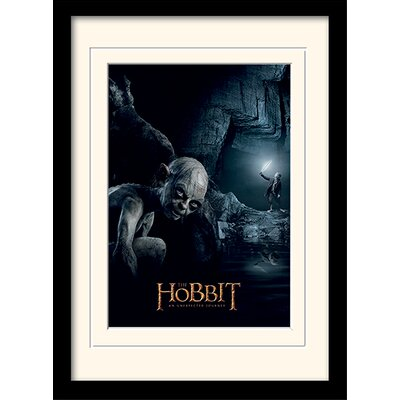 Art Group The Hobbit - Gollum Framed Vintage Advertisement
