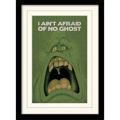 Art Group Ghostbusters Slimer Framed Vintage advertisement
