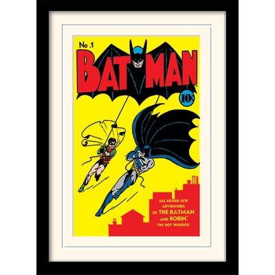 Art Group Batman No.1 Framed Vintage Advertisement