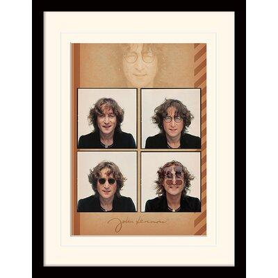 """Art Group John Lennon """"Quartet - Bob Gruen"""" Framed Graphic Art"""
