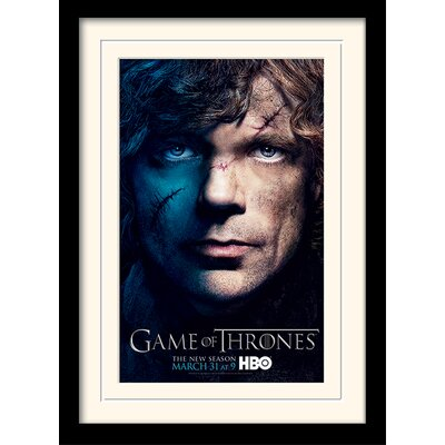 Art Group Game of Thrones Season 3 - Tyrion Framed Vintage Advertisement