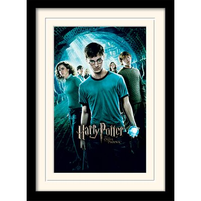 Art Group Harry Potter Order of The Phoenix Framed Vintage Advertisement
