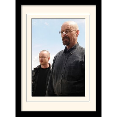 Art Group Walter and Jesse Breaking Bad Framed Photographic Print
