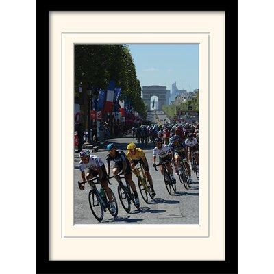Art Group Le Tour de France Champs Elysees Mounted Framed Photographic Print