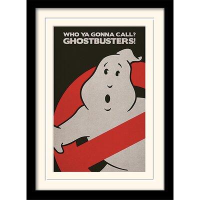 Art Group Ghostbusters Logo Framed Vintage Advertisement