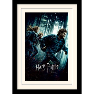 Art Group Harry Potter Deathly Hallows Part 1 Framed Vintage Advertisement