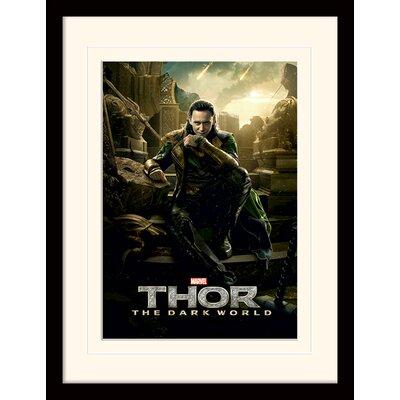Art Group Loki - Thor 2 Framed Vintage Advertisement