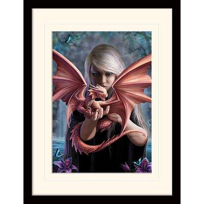 Art Group Dragonkin Anne Stokes Framed Graphic Art