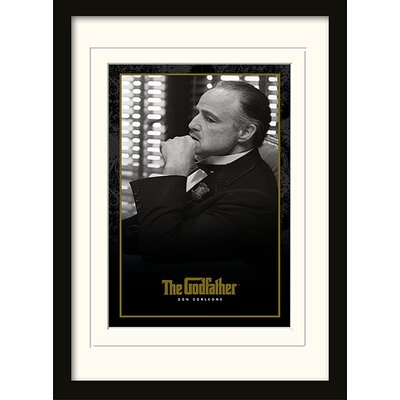 Art Group The Godfather - Don Corleone Framed Vintage Advertisement
